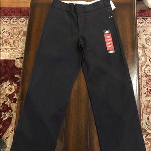 NWT Dickies Pants 29x29 black